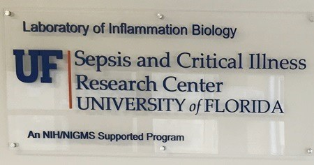 UF Sepsis Center Wall Sign2